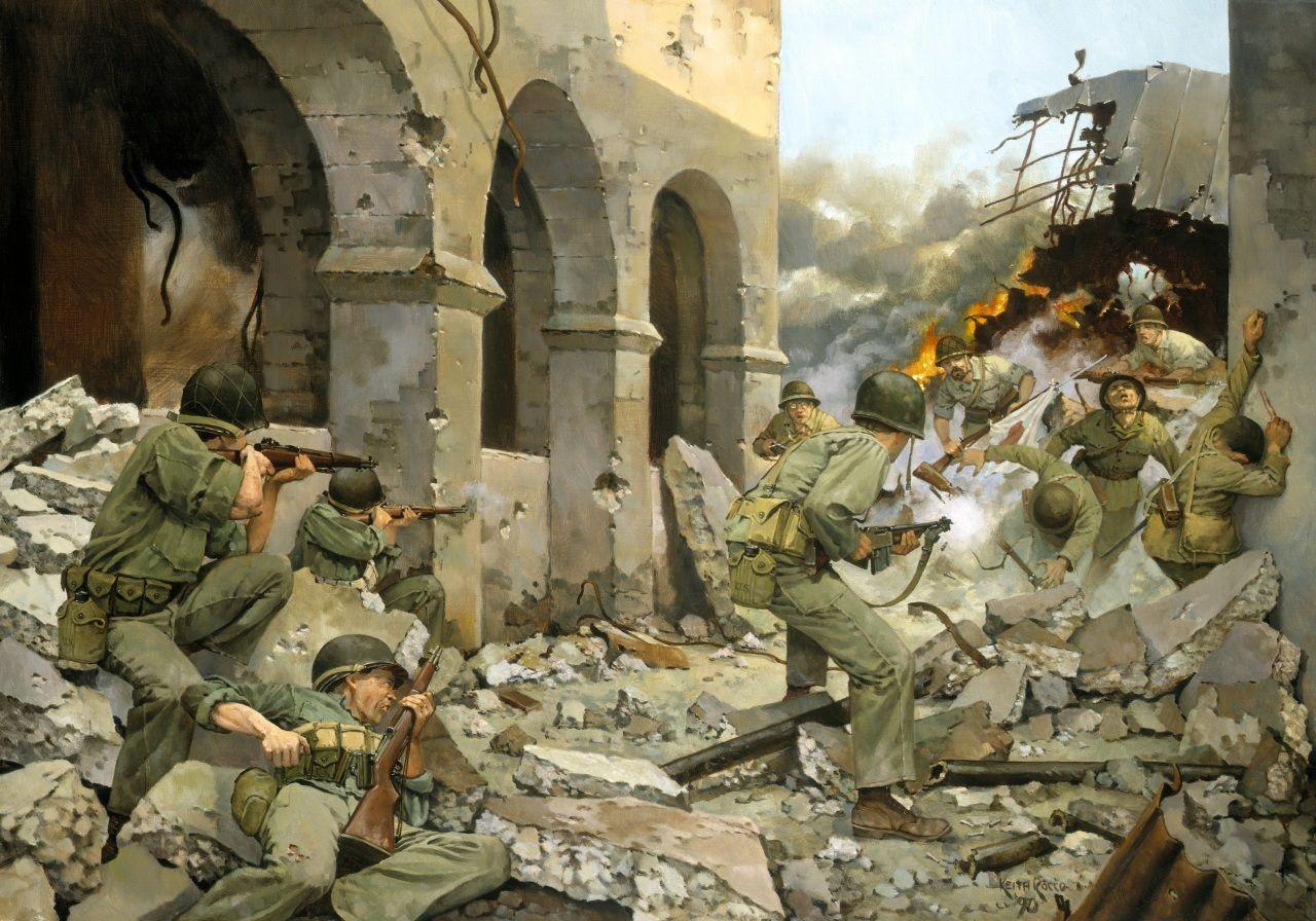 само военная живопись картинки был