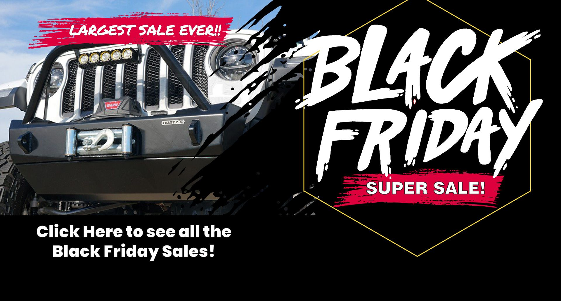 Rustys Offroad Black Friday Sales Black Friday Sale Sale Suspension Systems
