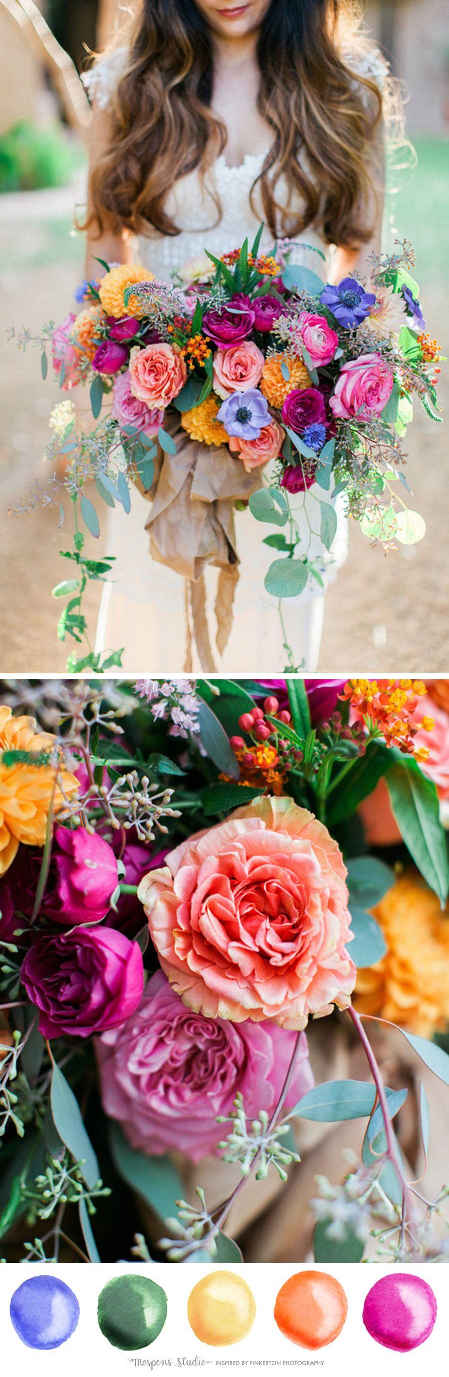 PINK INSPIRED COLOR PALETTE NO. 101 Summer wedding