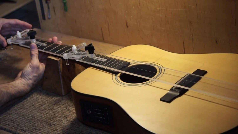 The Simple Centerline Finder Luthier Bass Guitar Straps Guitar