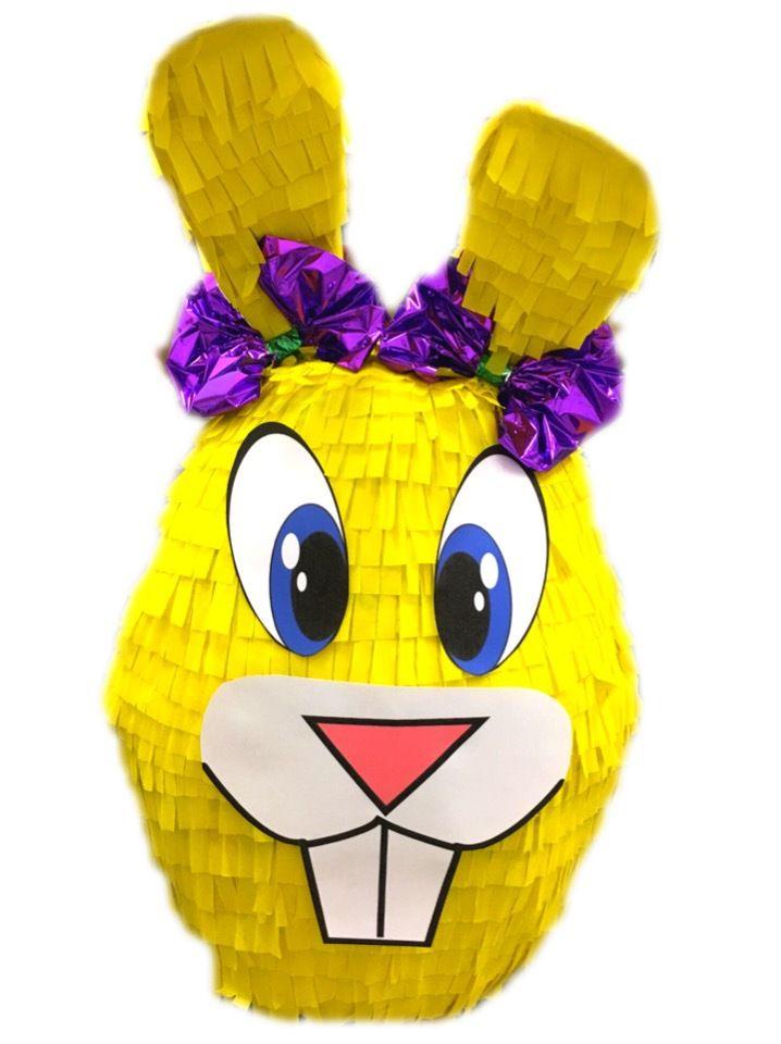 Custom handmade Easter Bunny Face Pinatas / Casa Pinatas
