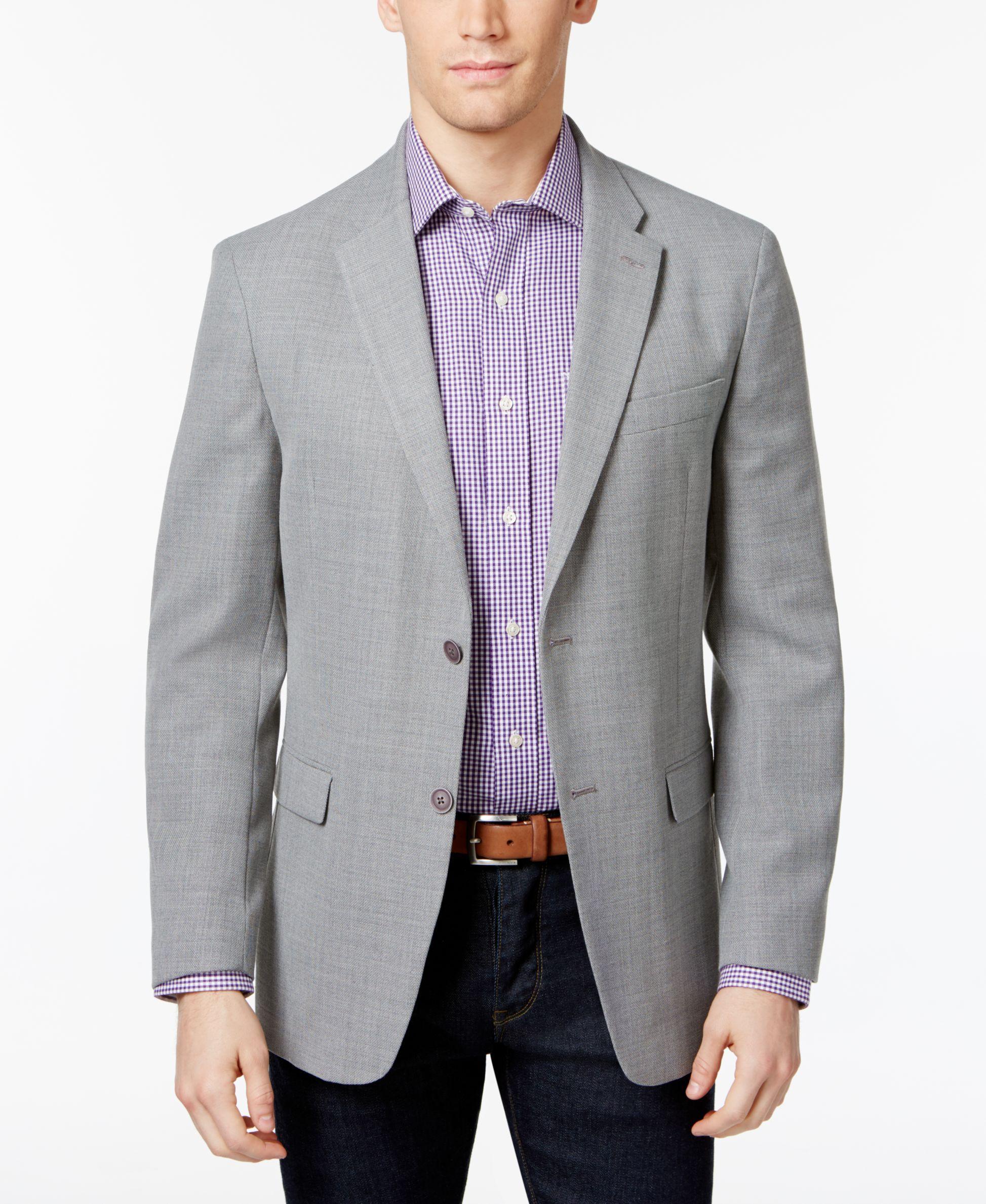 Tommy Hilfiger Men's Slim Fit Soft Textured Sport Coat