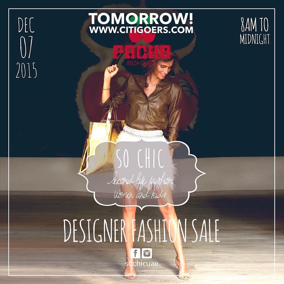 So Chic Designer Fashion Sale at Pacha Dubai is happening