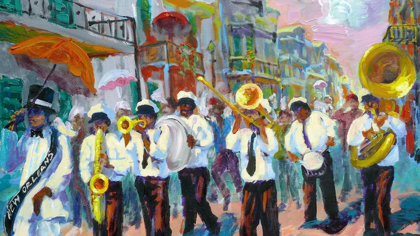 Bing homepage gallery new orleans art new orleans music