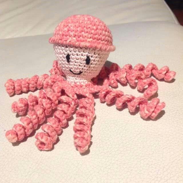 Dit inktvisje is gemaakt door Peggy de Paepe. | POLVINHOS ...