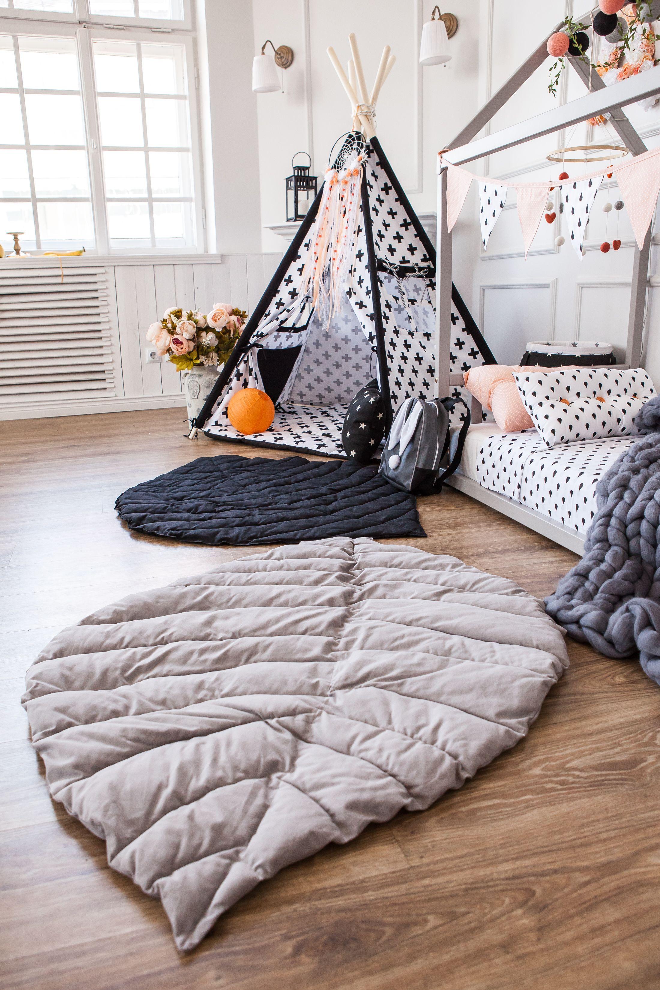 Baby Play Mat Floor Mat Bed Cover Nursery Carpet с
