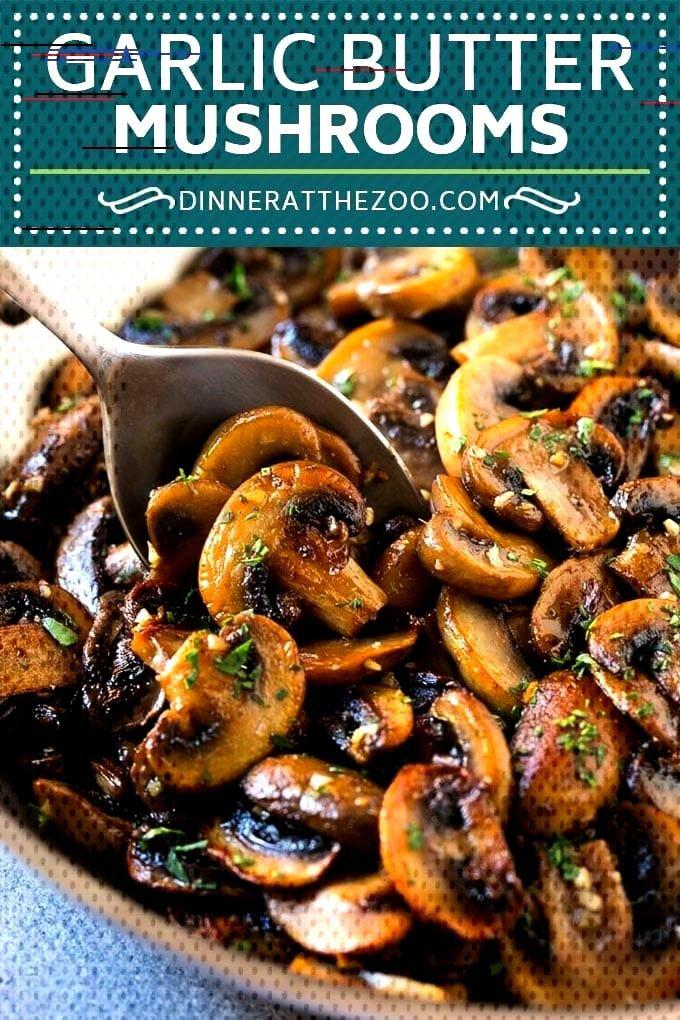 Sauteed Mushrooms in Garlic Butter Sauteed Mushrooms Recipe   Garlic Butter Mushrooms   Steakhouse