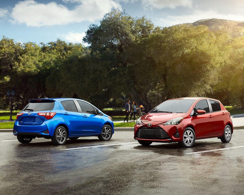 New Toyota Yaris Hatchback In Winnipeg Toyota Dinghy Vehicles