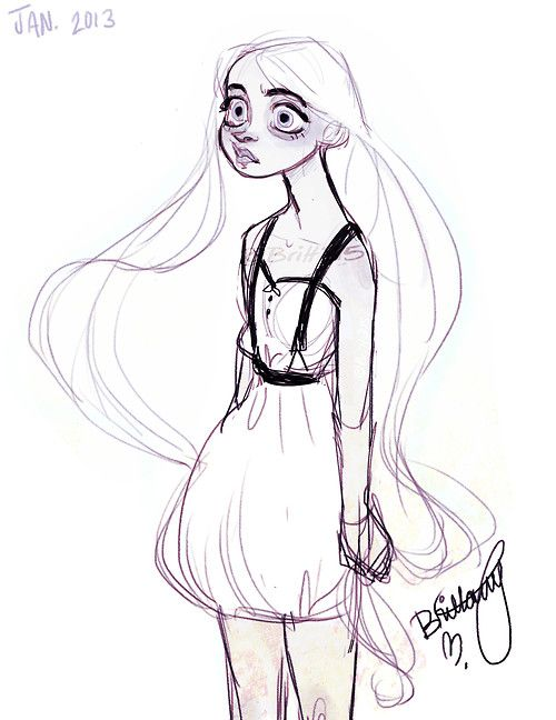 More Of Ghost Girl   Character Design References-5061