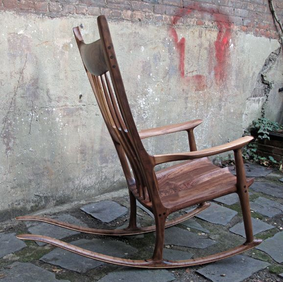 Maloof Style Rocker By HarlemBuilt :: This Is A Sculpted
