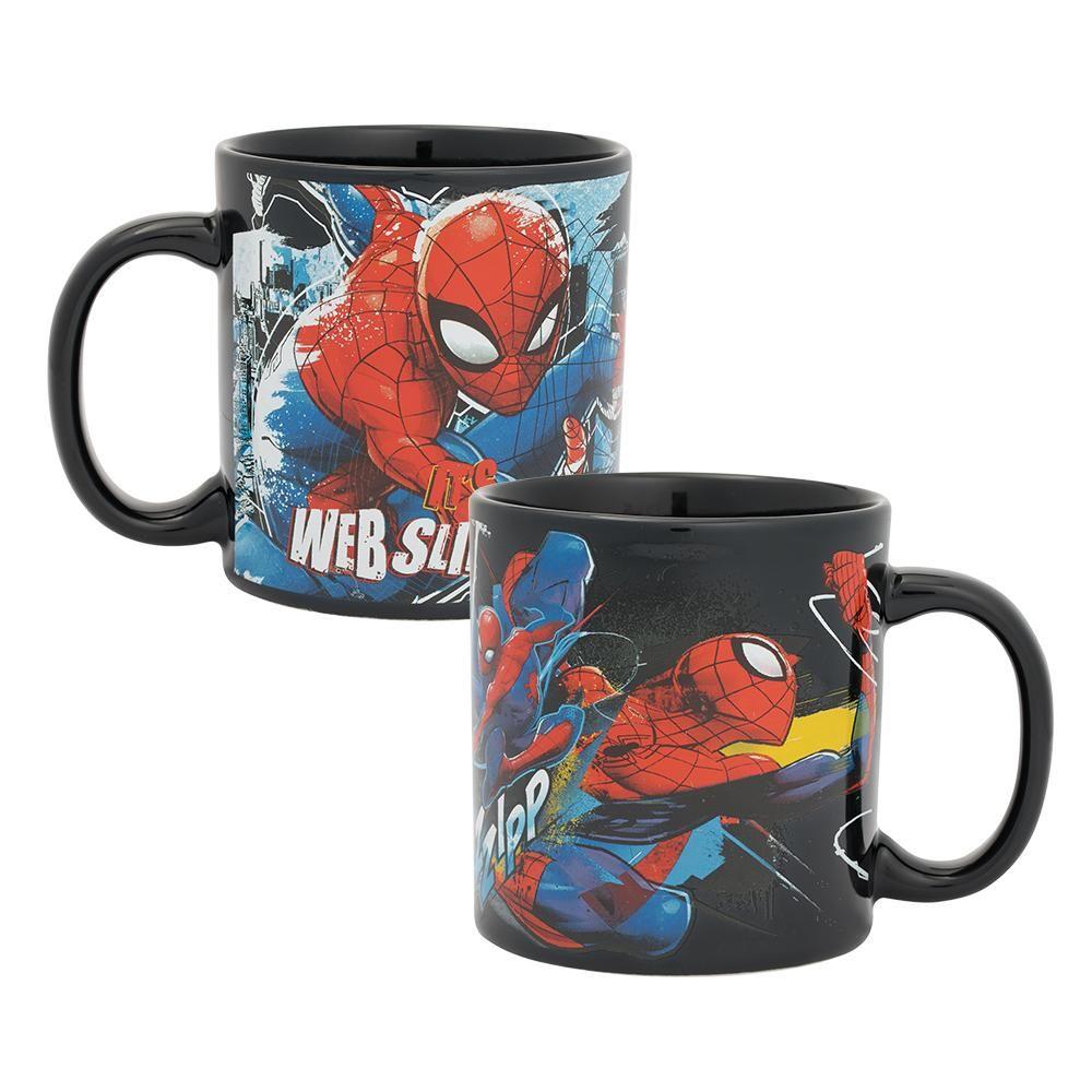 Vandor Marvel SpiderMan Web Slinging Time 20 oz