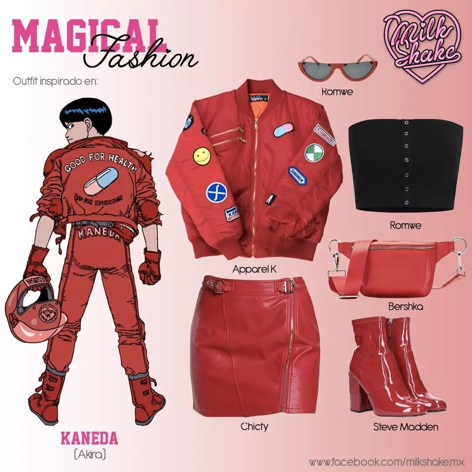 Outfit inspiration Akira outfit casualcosplay Casual