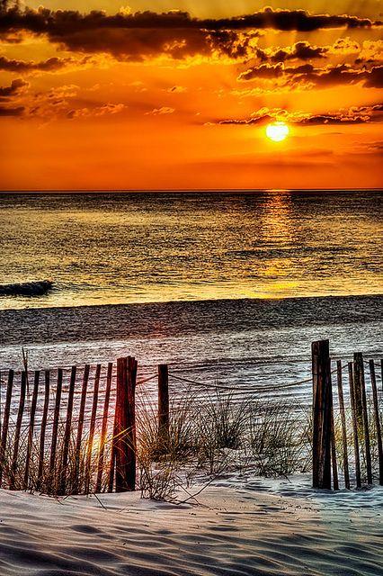 sunset on the coast....