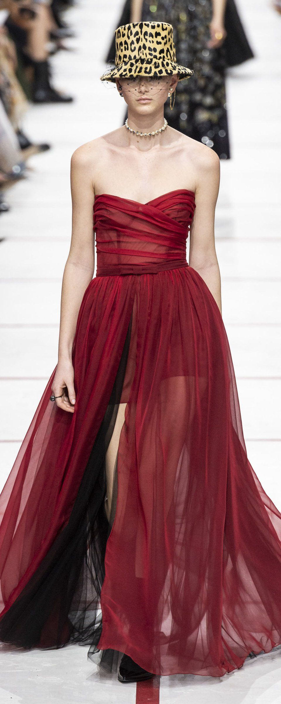 Angie Simms Nude christian dior fall-winter 2019-2020 - ready-to-wear in 2020
