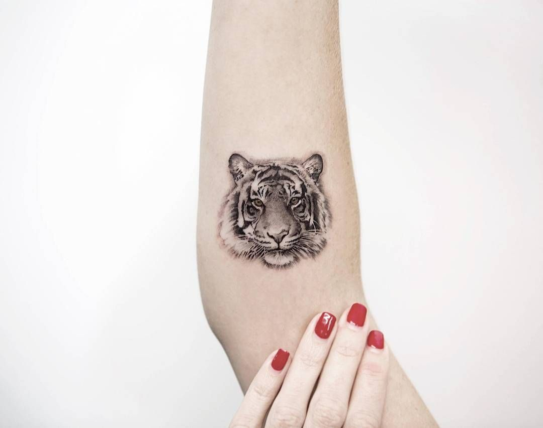 Tiger Tattoo By Dragon Ink Pattern Tattoo Minimalist Tattoo Cool Tattoos