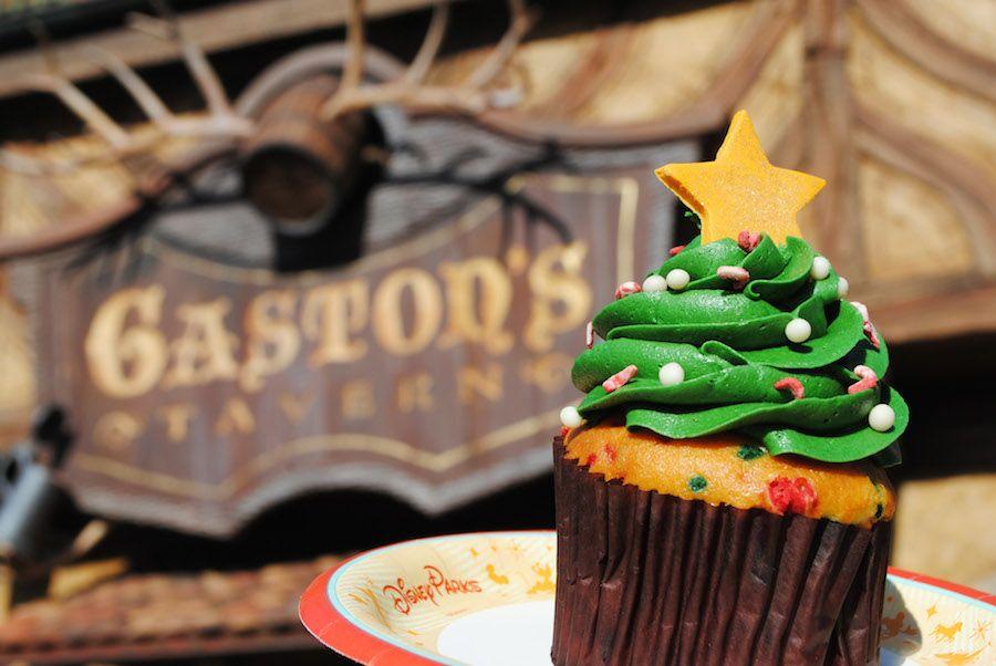 Christmas food at Walt Disney World