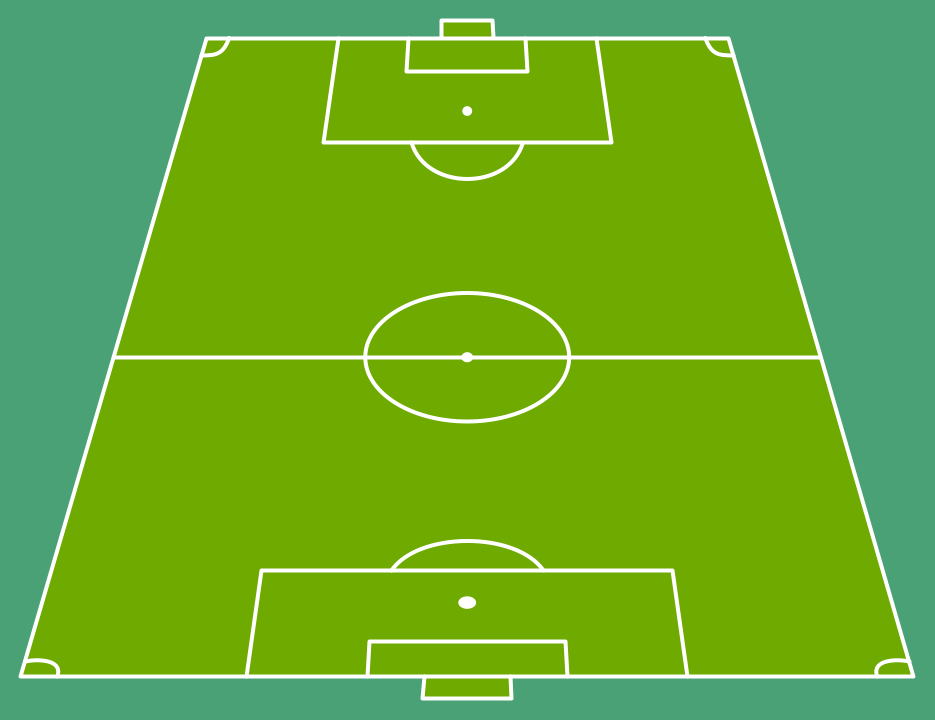 Soccer Football Field Templates In 2020 Football Pitch Football Field Football Formations