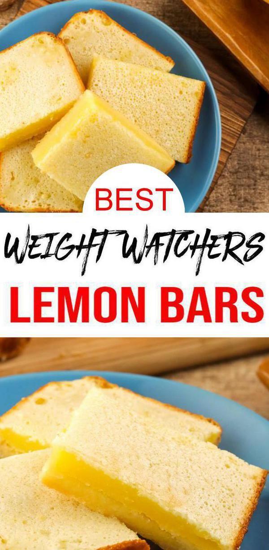 Weight Watchers Lemon Bars – BEST Lemon Bar Bites WW Recipe – Desserts – Treats – Snacks with Smart Points