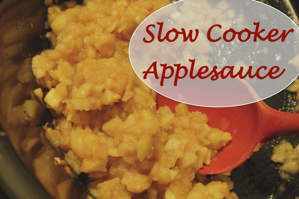 Tricias Slow Cooker Applesauce Recipe at FAB 1024x682 Slow Cooker Applesauce Recipe