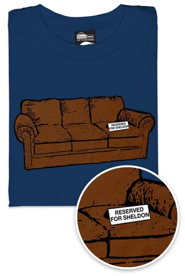 ThinkGeek :: Sheldon's Spot