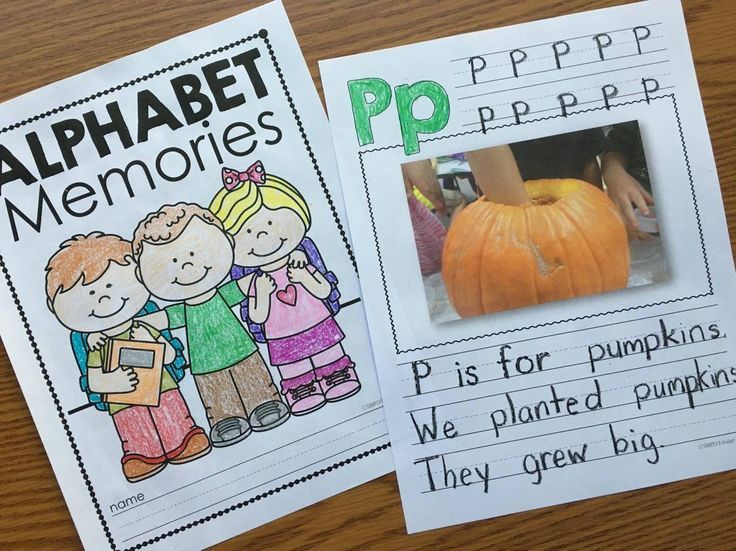 Editable Alphabet Memory Book