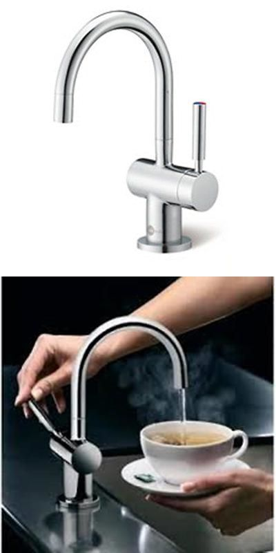 Hot Cold Water Dispensers 121848: Insinkerator F Hc3300sn Indulge Modern Hot  Cold Water Faucet