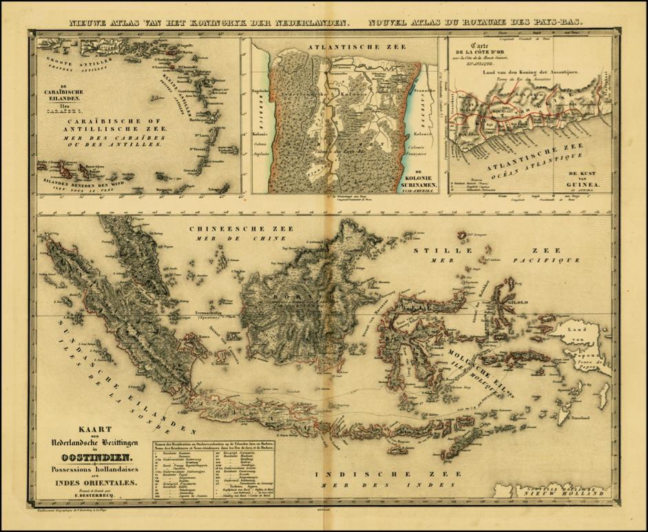 Dutchcolonial1840 Dutch East Indies Dutch Empire Old Maps