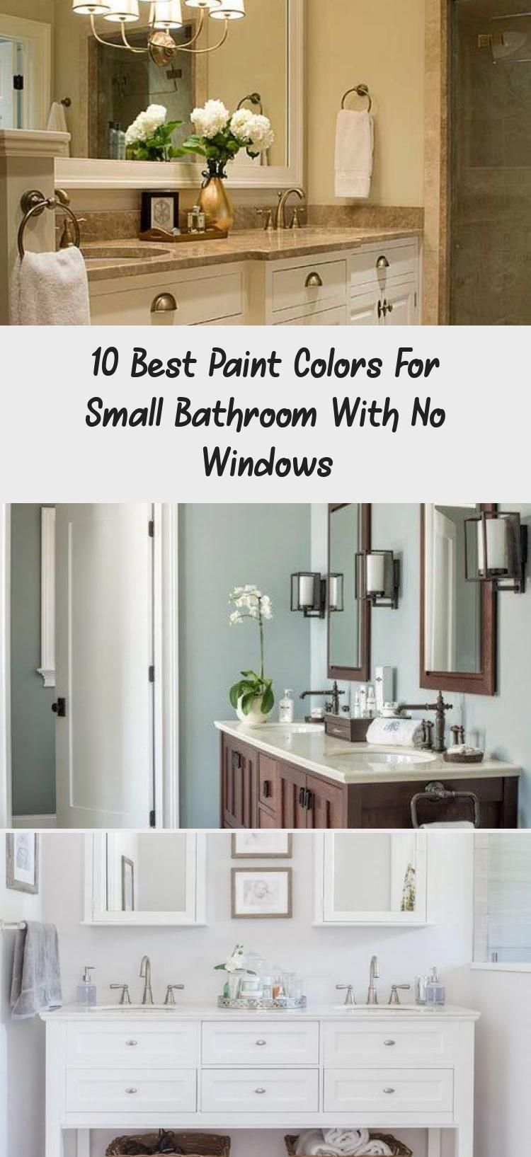 Best Paint Colors For Small Bathrooms Without Windows
