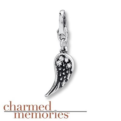 Charmed Memories Hope Necklace Sterling Silver N03Q8NhE5w