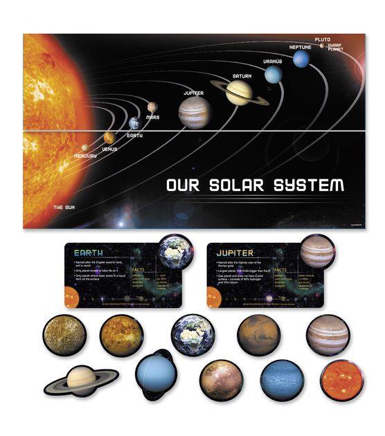 busy kids learning mini bulletin board set planets space 4 99 1