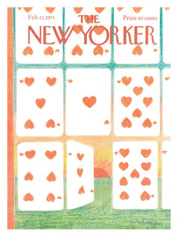 The New Yorker Cover - February 13, 1971 Giclee Print by Andre Francois at Art.com