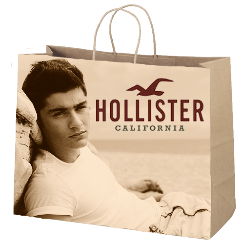 Zayn Hollister Bag He Is So Fineee