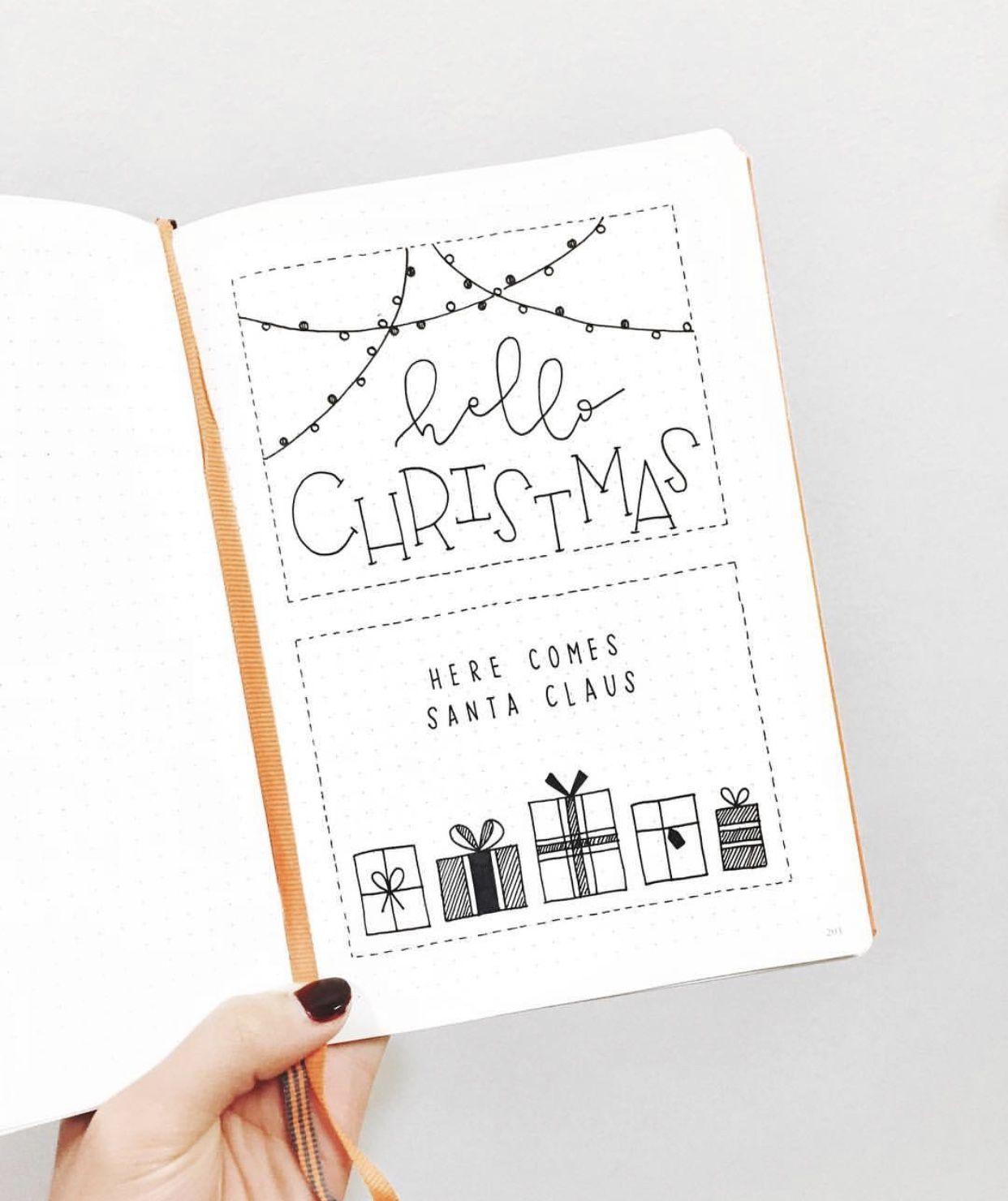 10 Christmas Bullet Journal Spreads