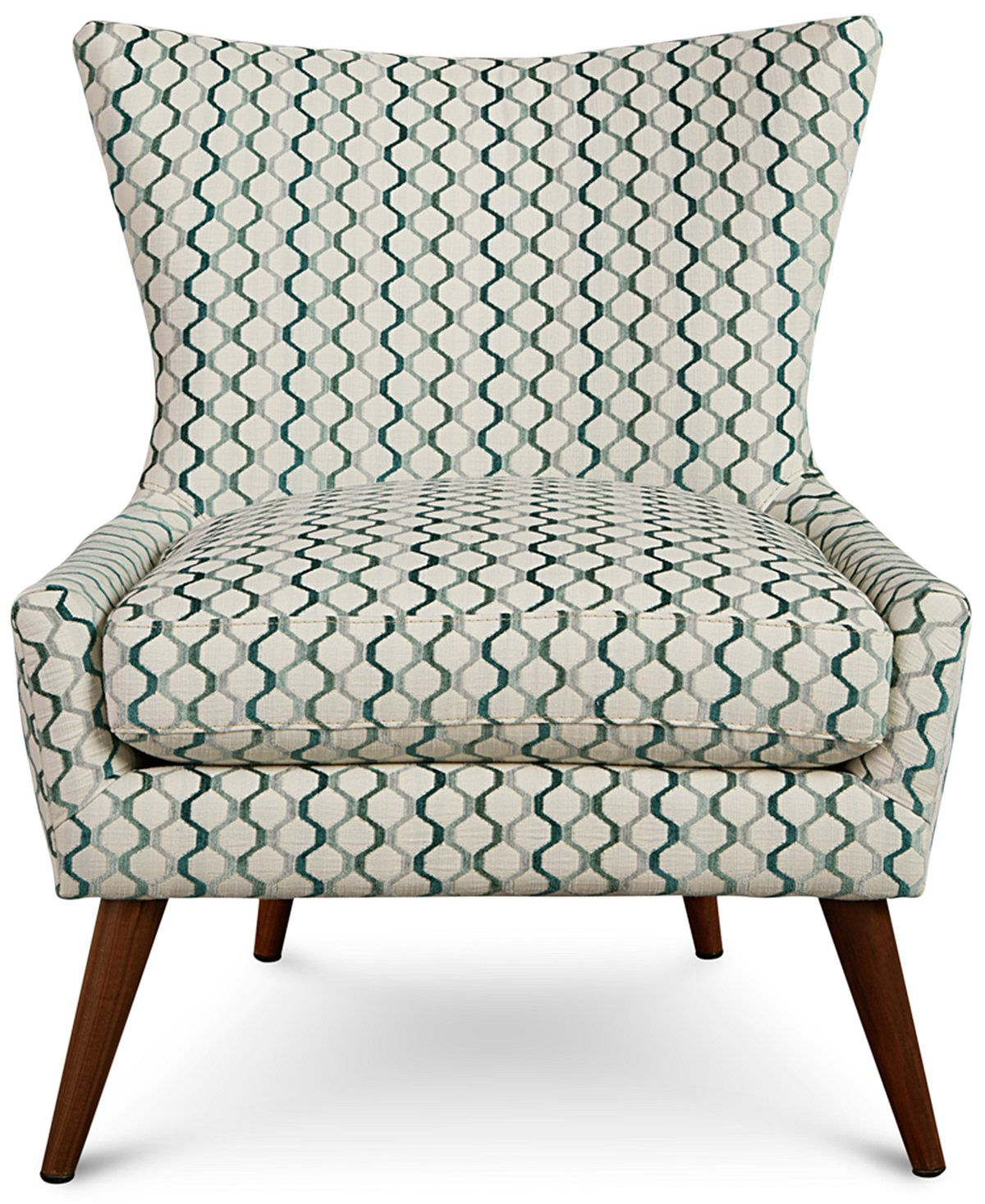 Arielle Printed Accent Chair Only At Macy S Chairs Recliners