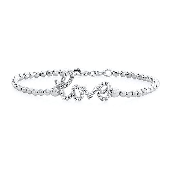 Rhythm Muse Love Bracelet In Sterling Silver 2173306