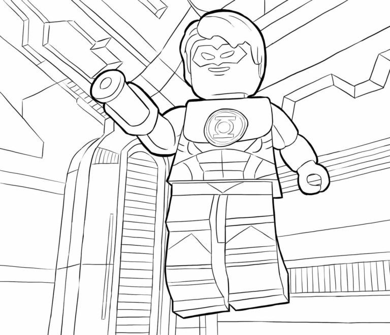 The Lego Batman Movie Coloring Pages Superhero Coloring Pages