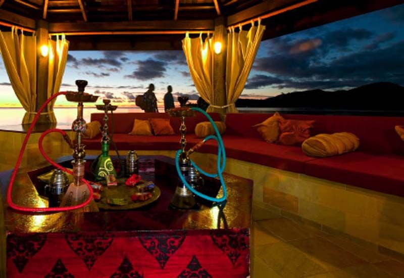 Under Deck Seating Hookah Hookah Lounge Hookah Bar