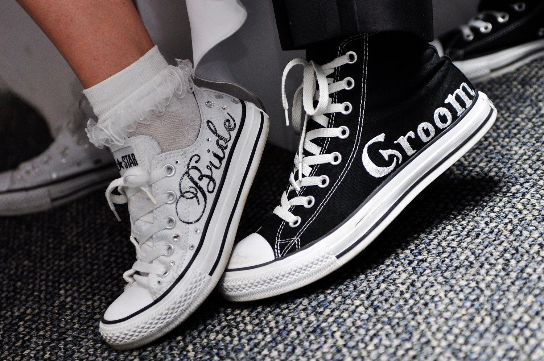 Made To Order Wedding Converse 75 00 Via Etsy