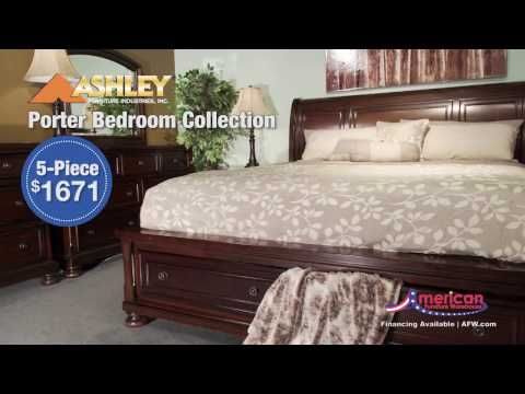 Ashley Porter King Panel Bed