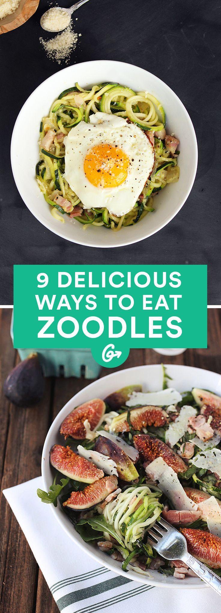 Zucchini) Noodles & Chicken Sausage   Recipe   Chicken sausage ...