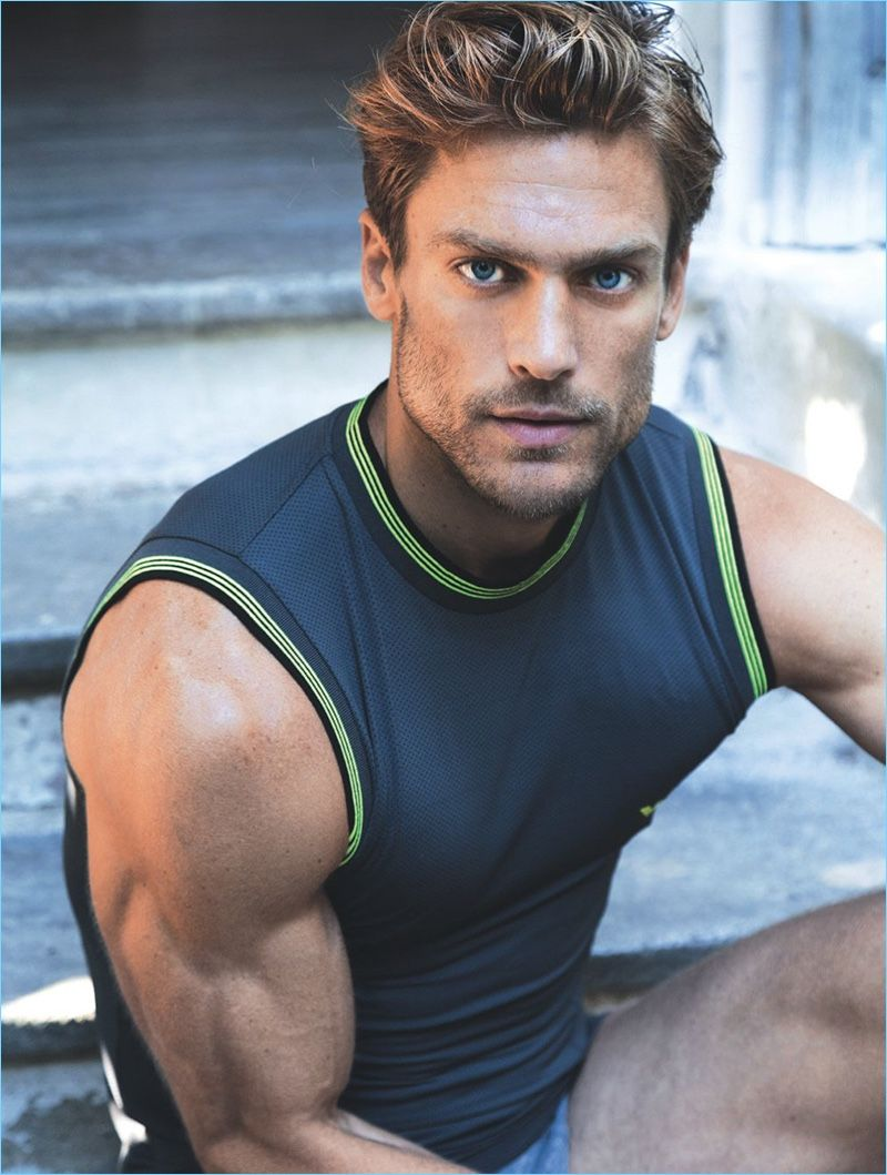 Shoot Morgan Is Romania For Men's Cover Health Ripped Jason PZuiXk