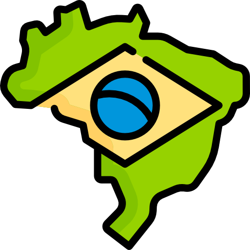 Brazil Free Vector Icons Designed By Freepik Free Icons Location Icon Vector Free