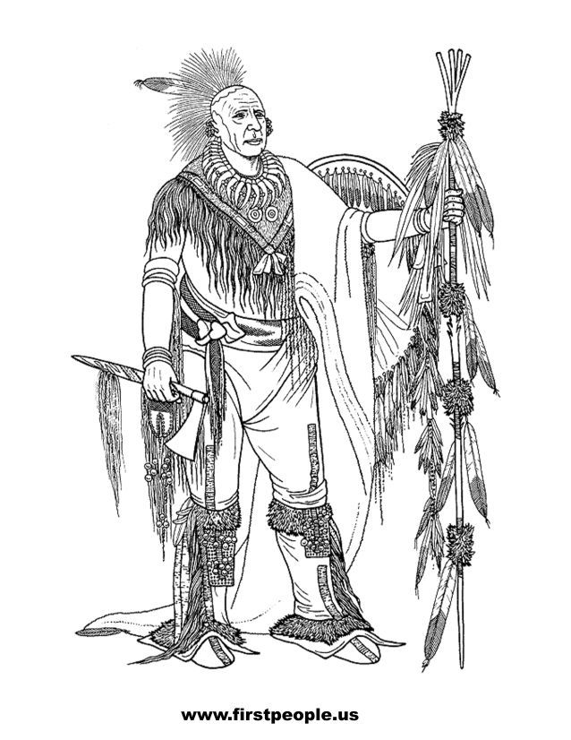 native american history coloring pages - photo#37