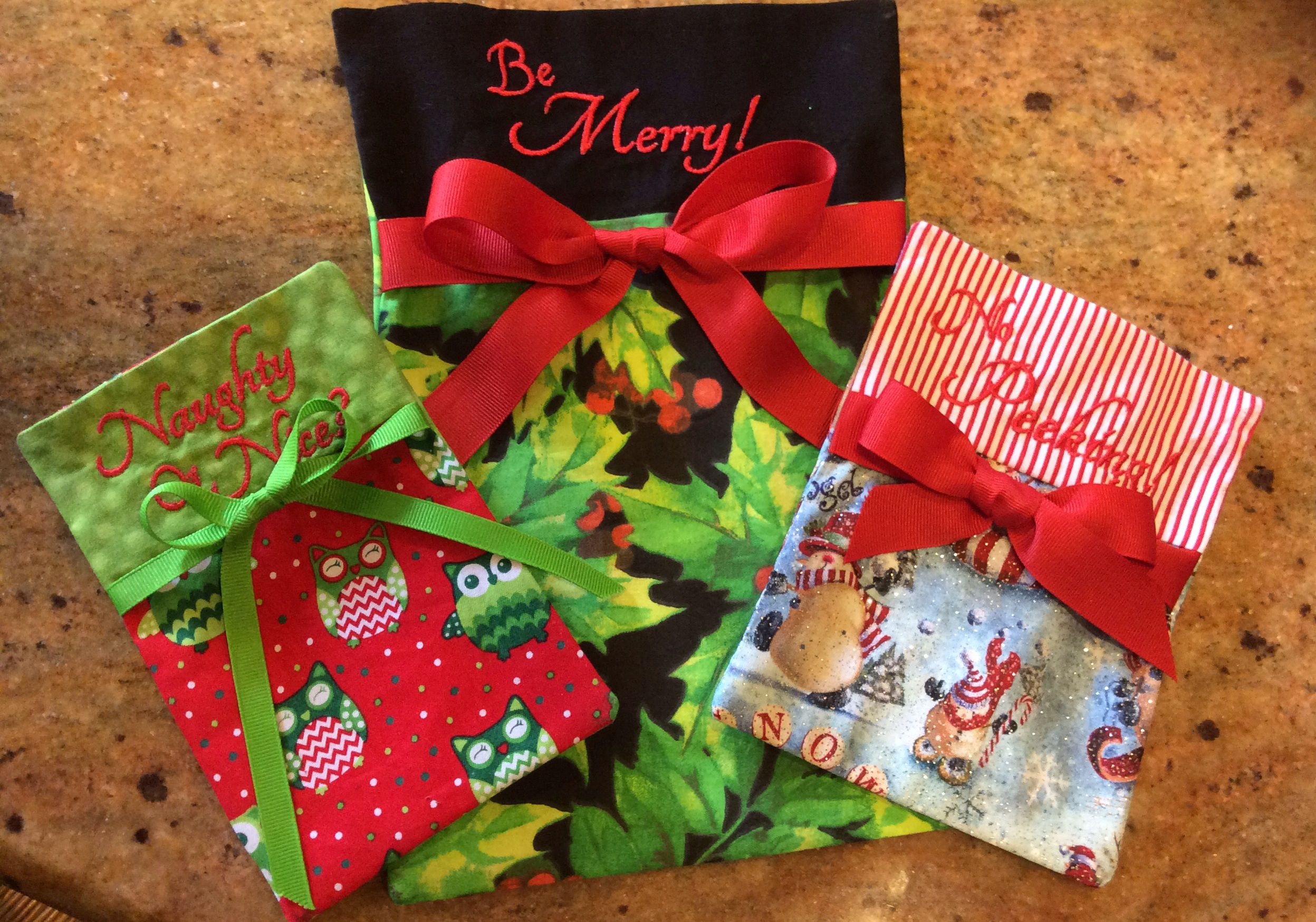 Gift bags by Pickle Pie Designs!