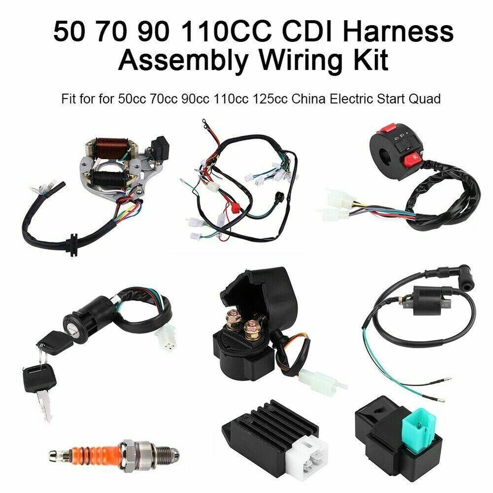Ebay Advertisement  High Quality 50 70 90 110cc Cdi
