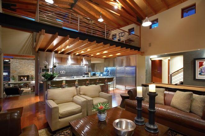 Metal Pole Barn Home Loft Apartment Designs Morton Building