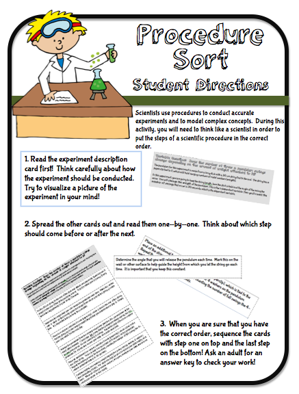 Pin By Dwight Cochese On Cool Classroom Ideas Science Process Skills Procedural Writing Science Skills