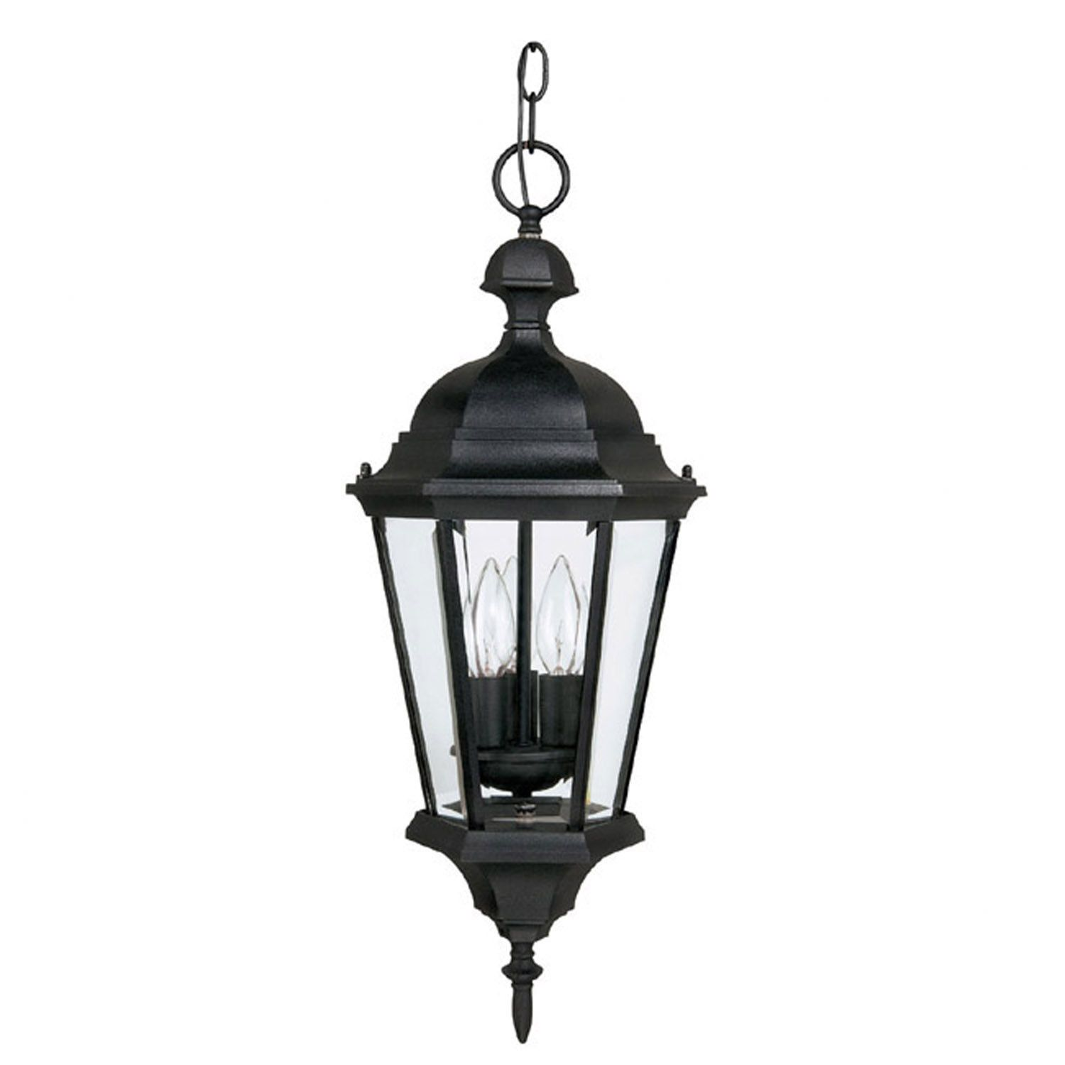 Capital Lighting Carriage House 3 Light Outdoor Hanging Lantern