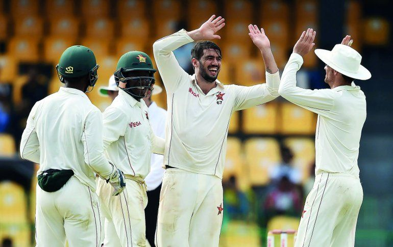 One-off Test: Cremer heroics give Zimbabwe edge over Sri Lanka - http://zimbabwe-consolidated-news.com/2017/07/15/one-off-test-cremer-heroics-give-zimbabwe-edge-over-sri-lanka/