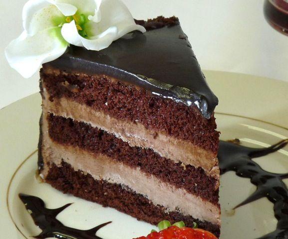 Best chocolate genoise cake recipe